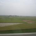 写真24 高鉄の車窓から、台湾の田畑2
