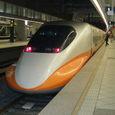 写真29 左営駅で台湾高速鉄道