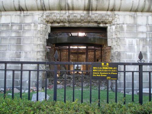 8 原爆ドーム内部