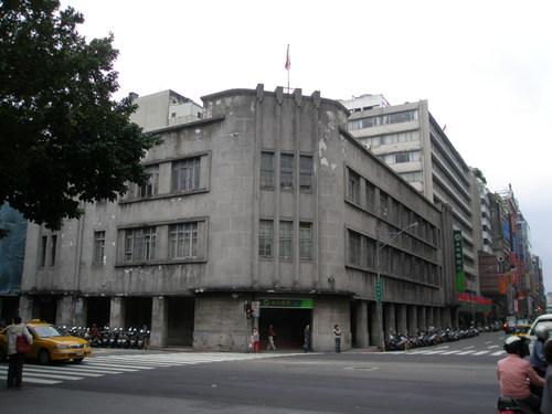 写真18 台北市内、土地銀行