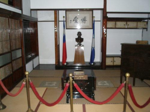 写真37 国父史蹟紀念館 内部